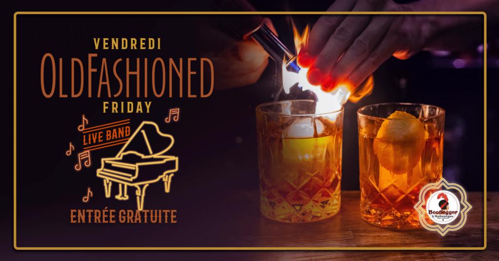 Bootlegger l'authentique speakeasy bar montreal live venue craft cocktail jazz